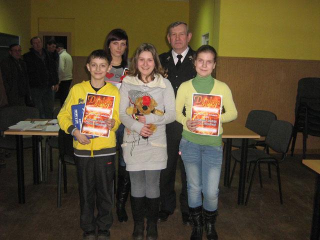 Gminny Turniej Wiedzy Pożarniczej